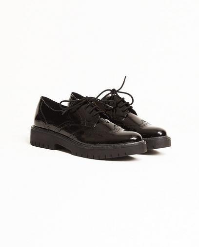 Zwarte geklede schoenen